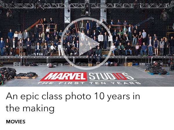 Marvel Studios - The First 10 Years - Class Photo