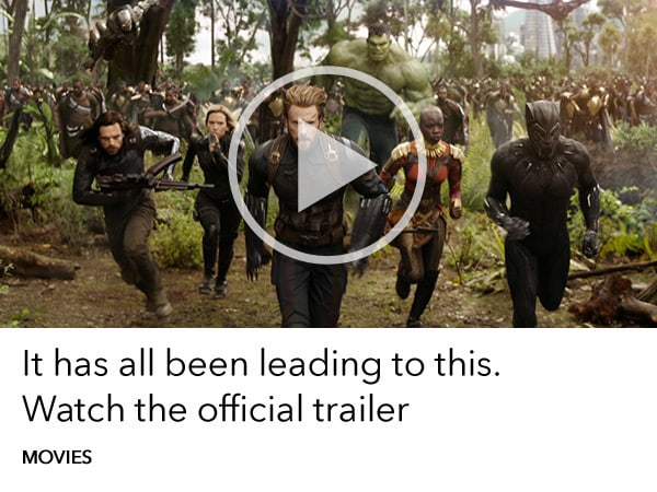 Watch the new Avengers Infinity War Trailer from Marvel Studios