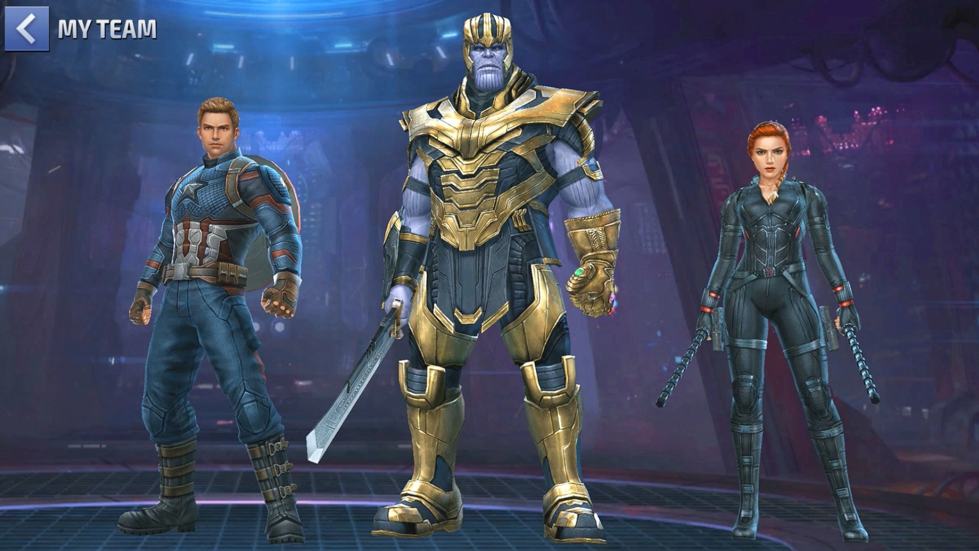"Marvel Future Fight: Marvel's ""Avengers: Endgame"" Theme Update!"