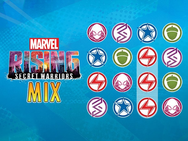 Marvel Rising Mix & Match