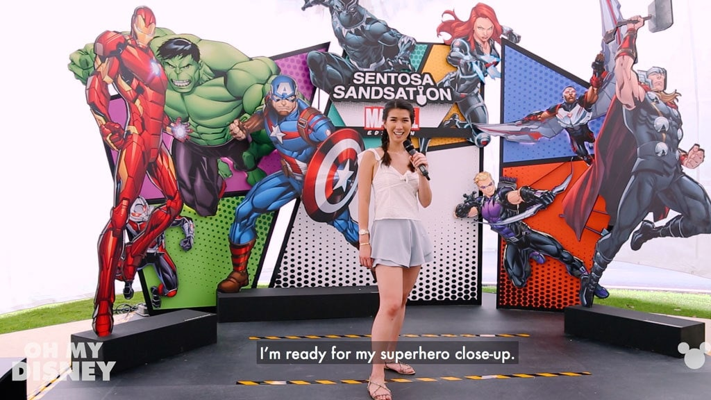 Disney Insider: Sentosa Sandsation: MARVEL Edition