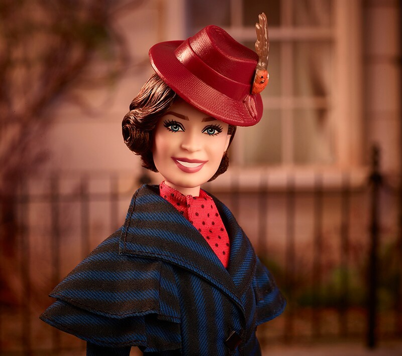 Mary Poppins signature Barbie Doll
