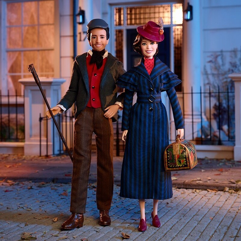 These New Mary Poppins Returns Dolls Look Just Like Emily Blunt and Lin-Manuel Miranda