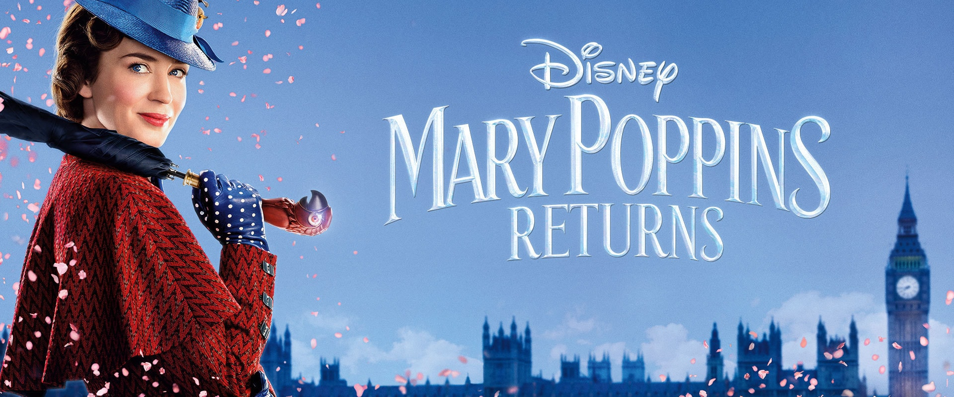 Disney's Mary Poppins Returns - Banner Hero Object - video