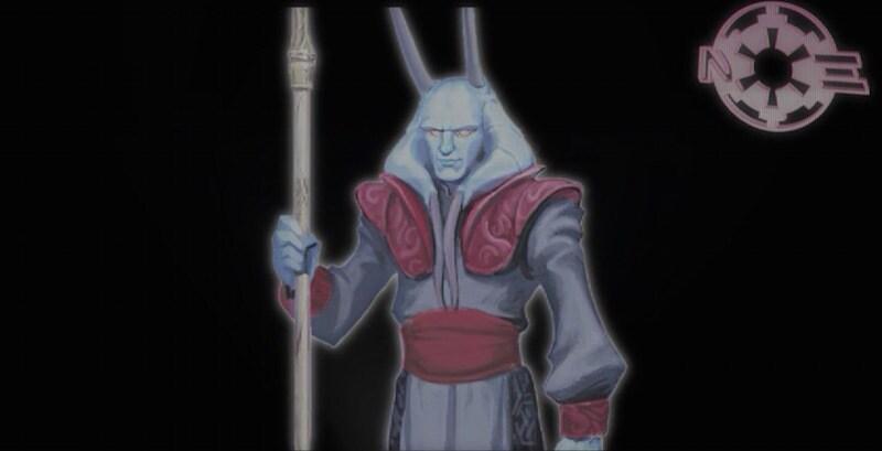Amedda as the Grand Vizier of the Empire