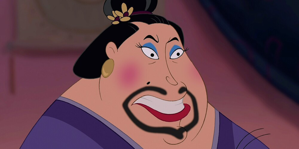 "The Matchmaker from the animated movie ""Mulan"""