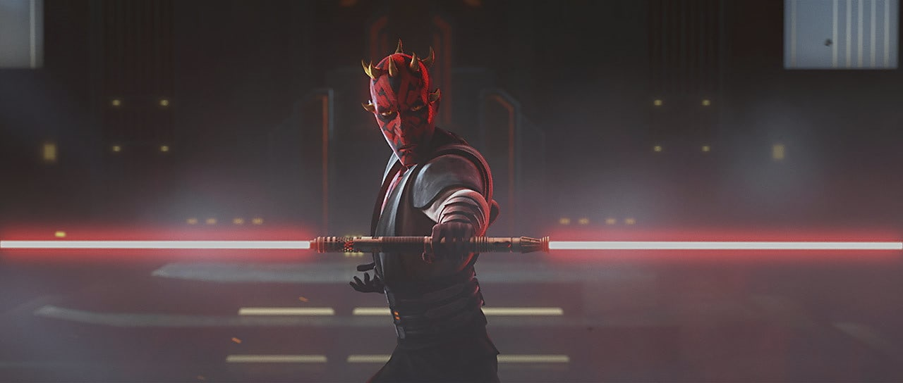 Darth Maul in the throne room