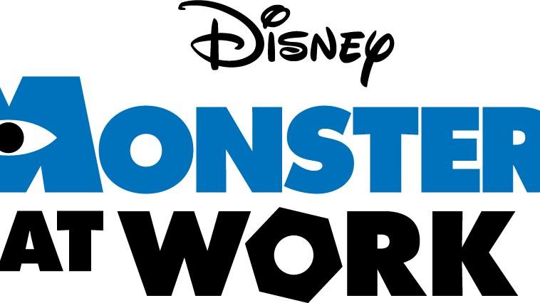 Monsters At Work Logo - Light