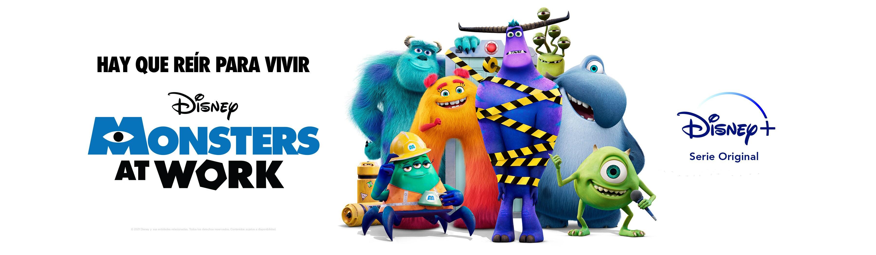 Monsters at Work | Estreno 2 de julio | Solo en Disney+