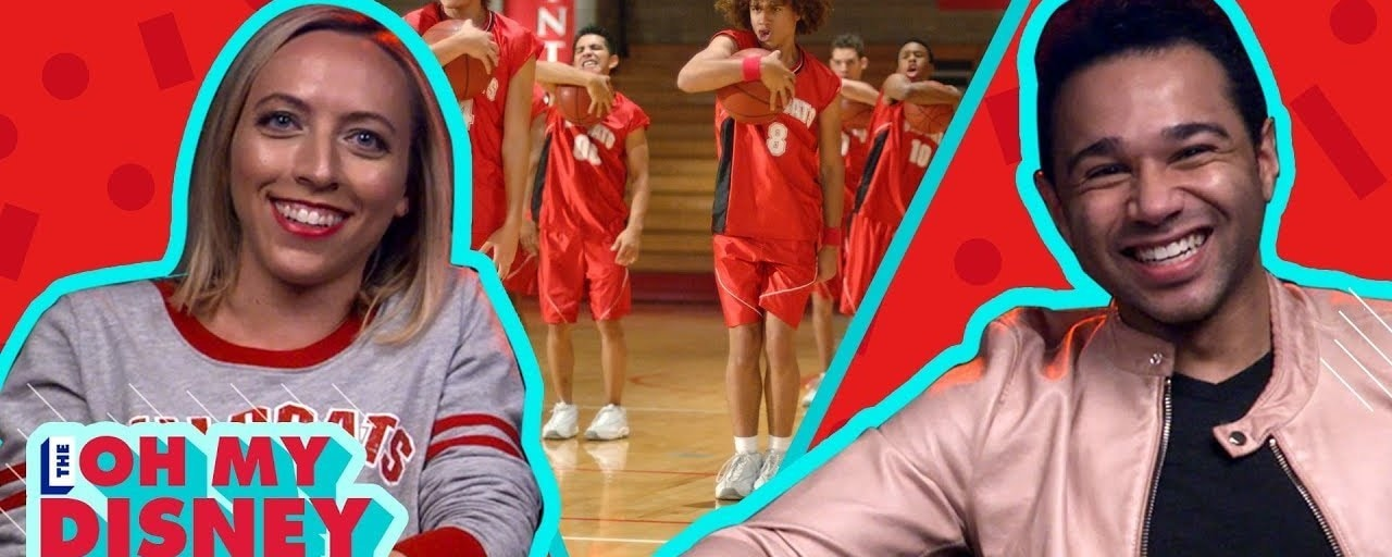 Corbin Bleu watches high school musical