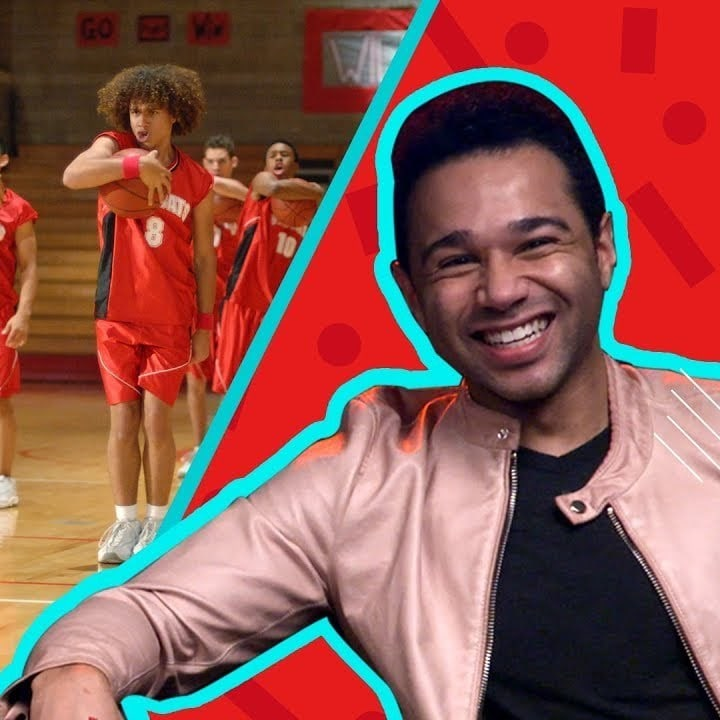 We Watched High School Musical With Corbin Bleu AKA Chad Danforth and Our Dreams Came True