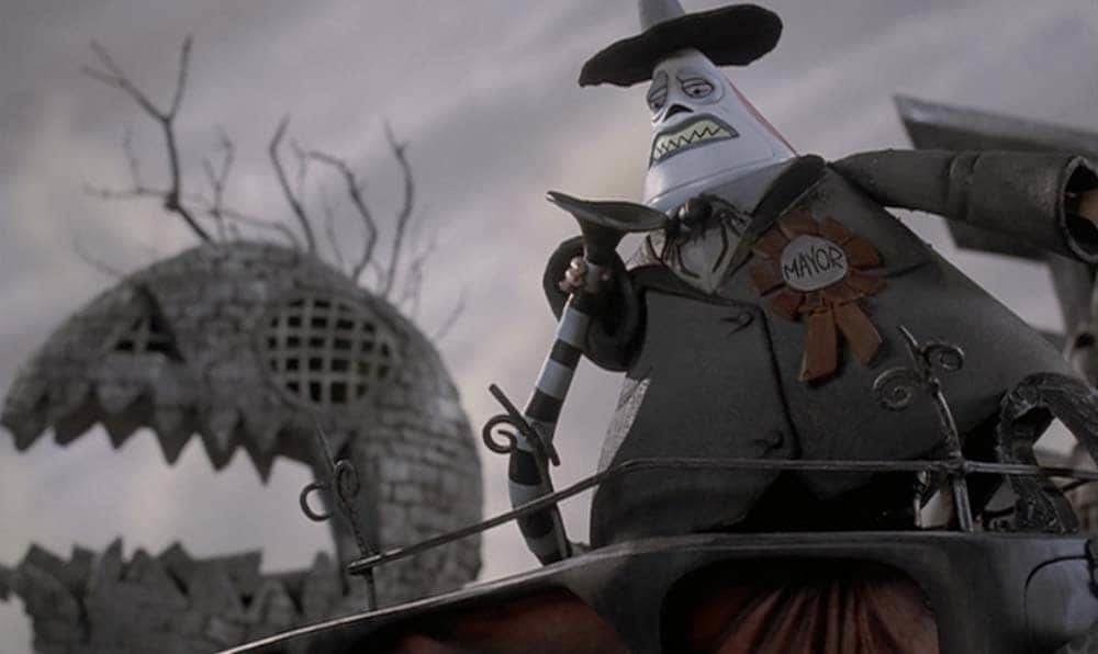 """The Mayor from the film """"The Nightmare Before Christmas"""""""