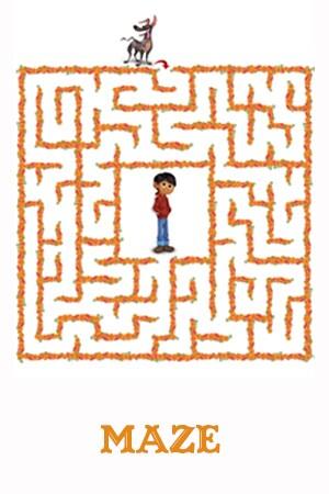 Disney.Pixar Coco - Maze