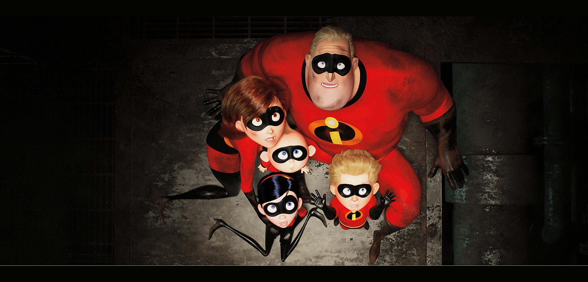 The Incredibles family faces danger