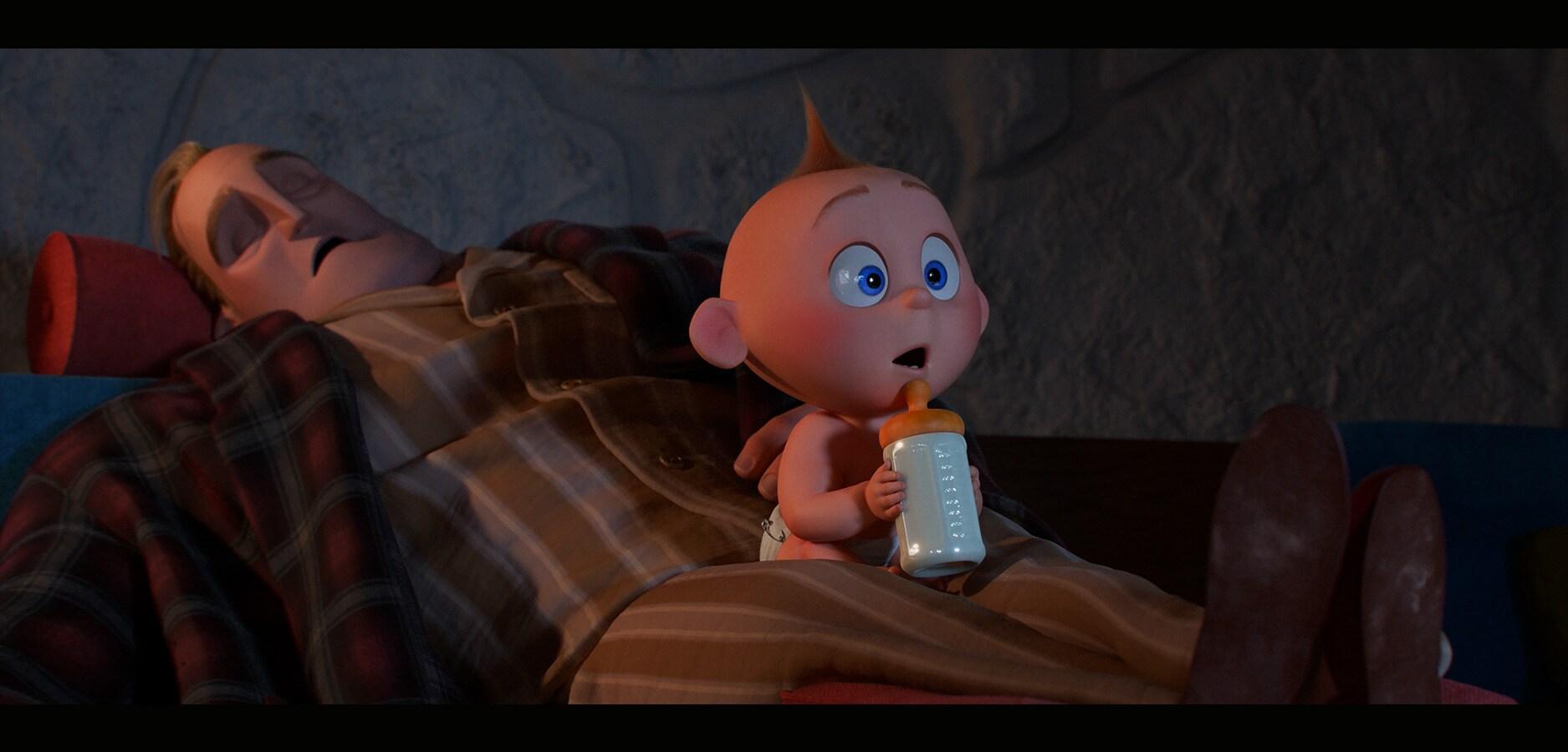 Baby Jack-Jack won't go to sleep