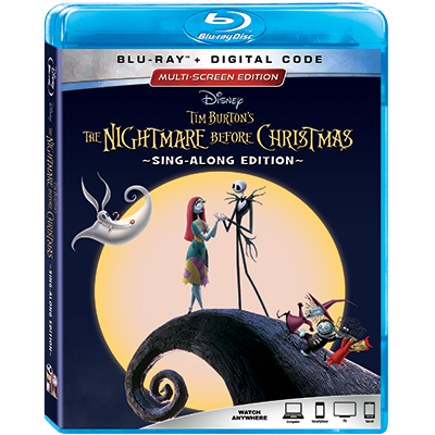tim burtons the nightmare before christmas audio commentary multi screen edition blu ray digital - Tim Burtons The Nightmare Before Christmas