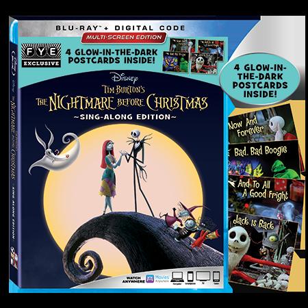 the nightmare before christmas disney movies