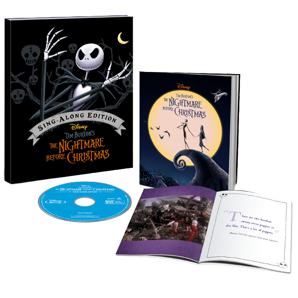nightmare before christmas target exclusive anniversary edition gallery book