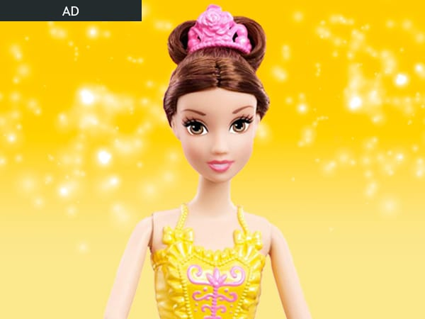 Disney Princess Ballerina Belle Doll