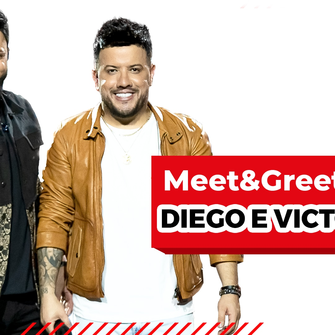MEET & GREET RADIO DISNEY VIRTUAL COM DIEGO E VICTOR HUGO