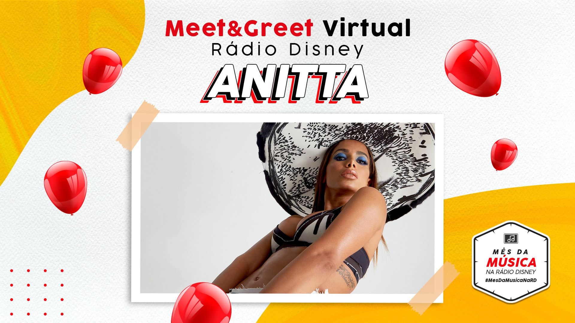 MEET & GREET RÁDIO DISNEY VIRTUAL - ANITTA