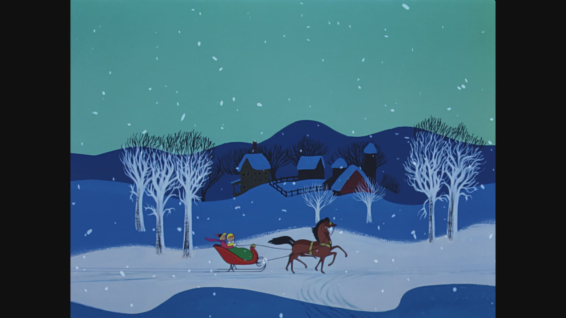 """Zenimation """"Snowscapes"""" - Melody Time"""