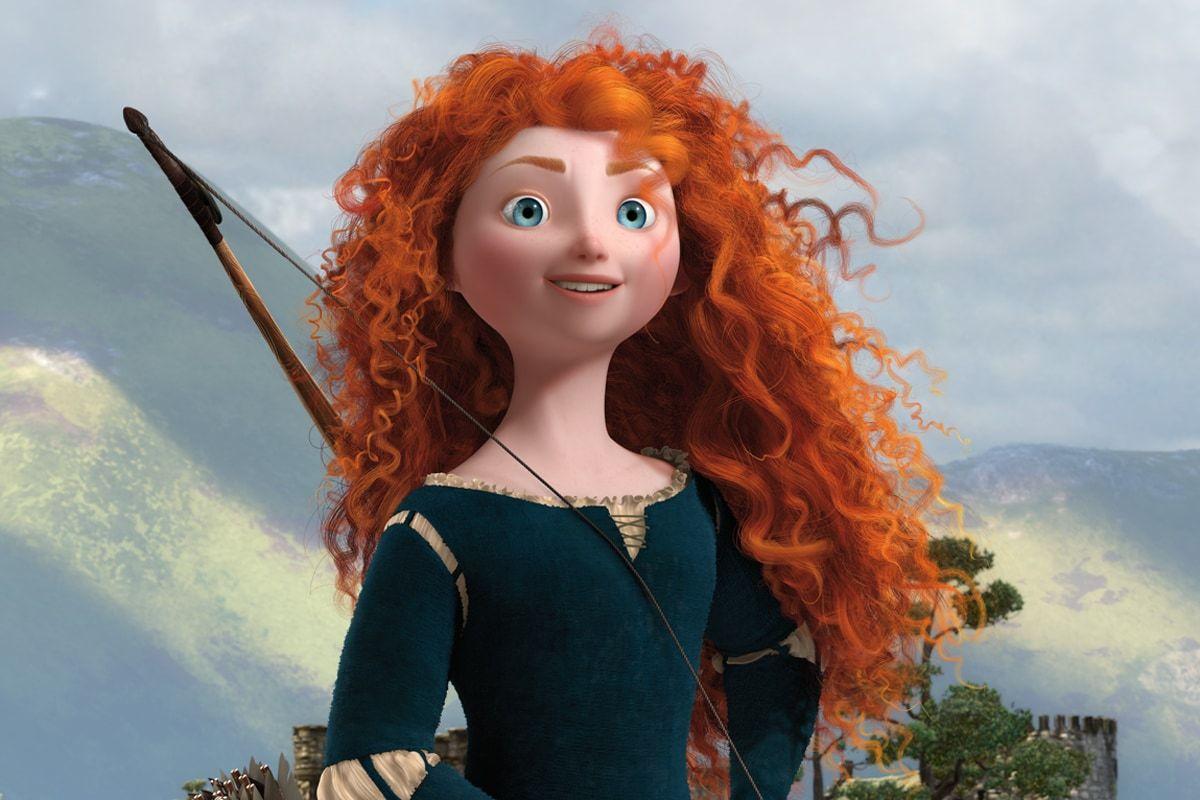 """Princess Merida from the animated movie """"Brave"""""""