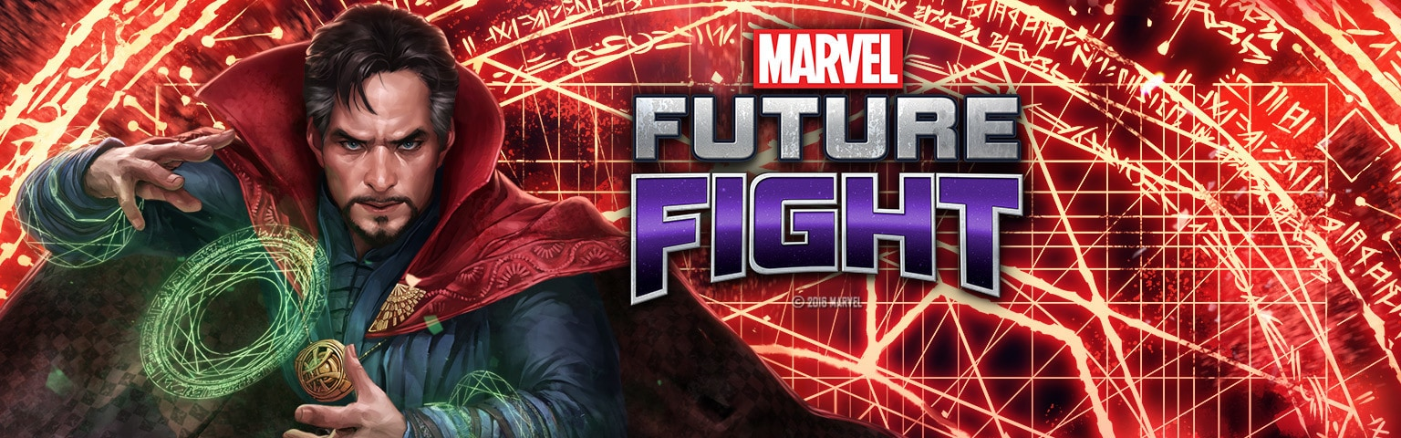 Marvel Future Fight - Doctor Strange Hero (App Landing) - MY