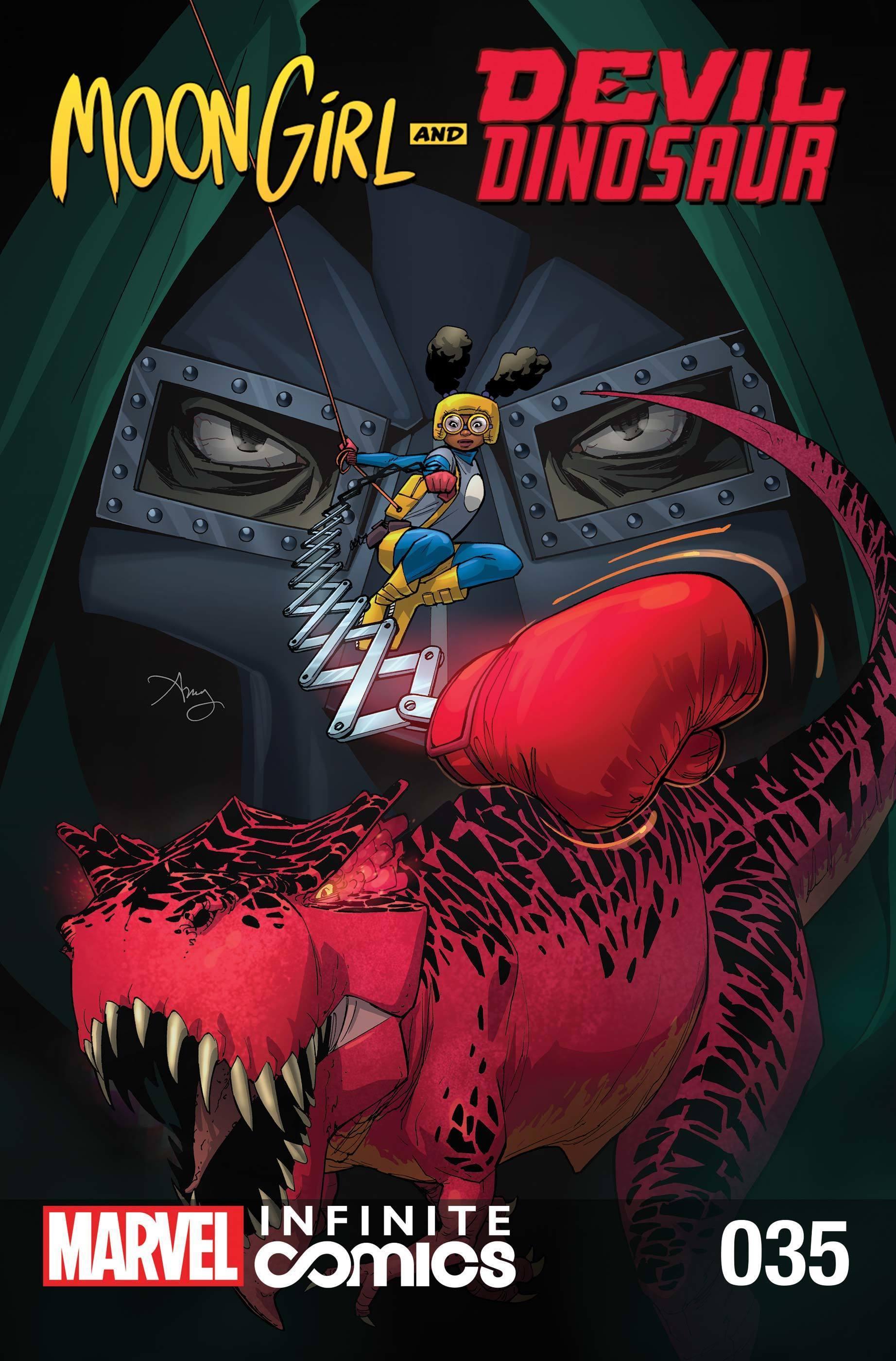 Moon Girl and Devil Dinosaur #35