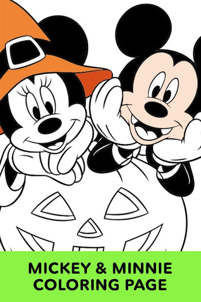 Minnie and Mickey Halloween