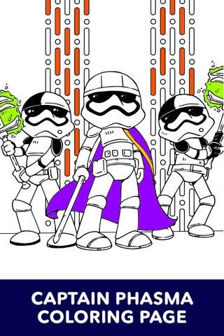 Star Wars - Art of Coloring - Captain Phasma
