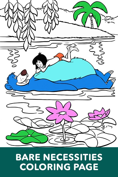 Bare Necessities Coloring Page