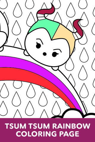 Tsum Coloring Pages