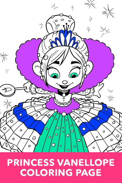 Princess Vanellope Coloring Page