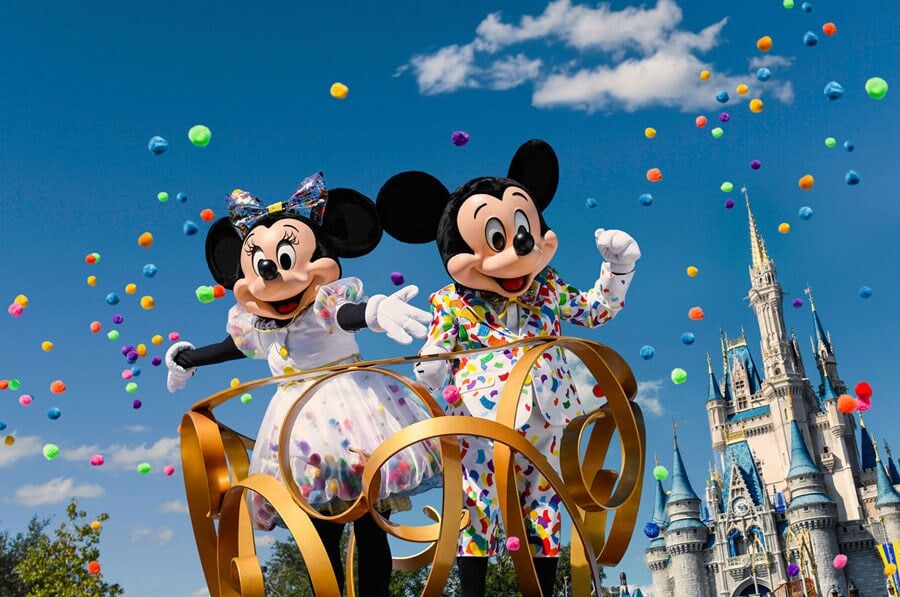 Mickey and Minnie Celebration at Magic Kingdom Park in Walt Disney World