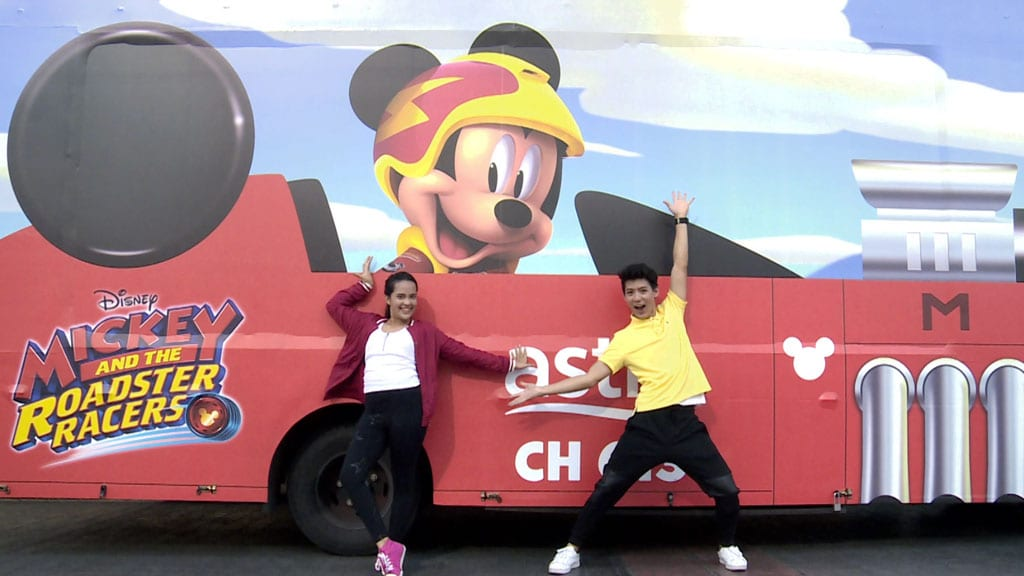 Mickey and the Roadster Racers Carnival in Kuala Lumpur