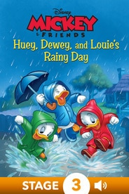 Mickey & Friends:  Huey, Dewey, and Louie's Rainy Day