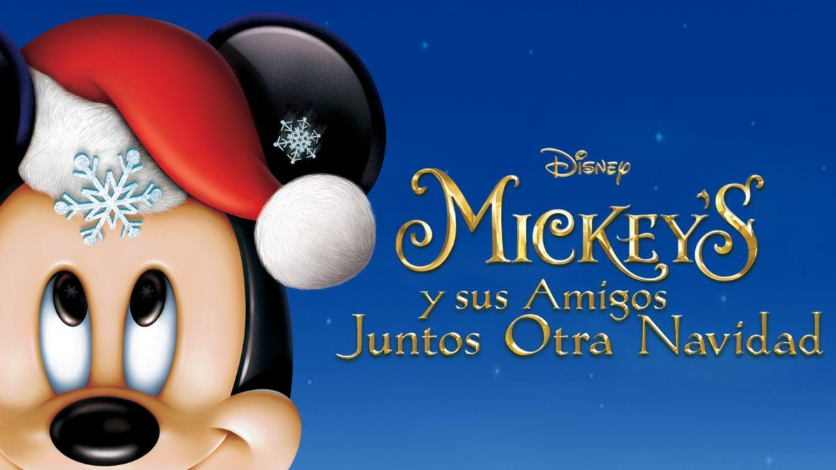 Mickey y sus amigos celebran juntos otra navidad