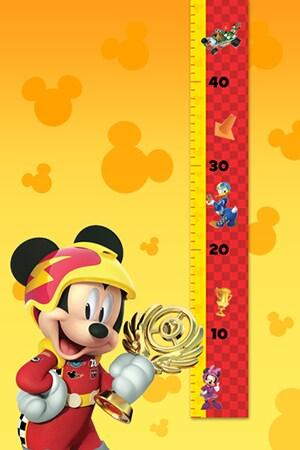 Toise Mickey top départ