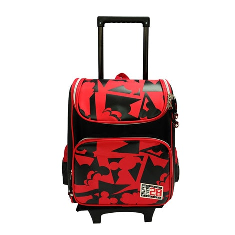 "DRE 1527R Disney Retro Mcikey 16"" Eva Trolley School Bag"