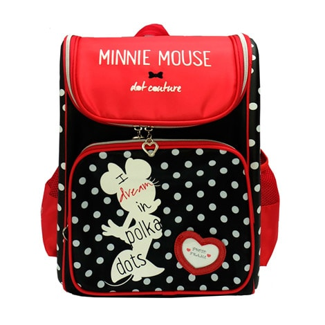 "DRE 1528 Diney Retro Minnie 16"" Eva School Bag"