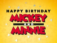 Mickey and Minnie's Birthday collection