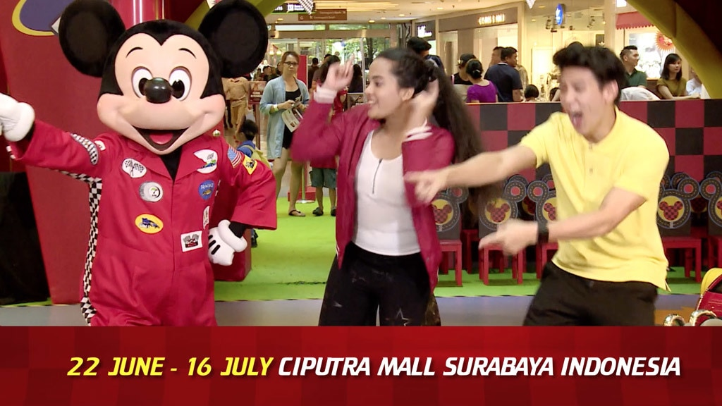 Mickey Roadster Racers Carnival - 22 June to 16 July