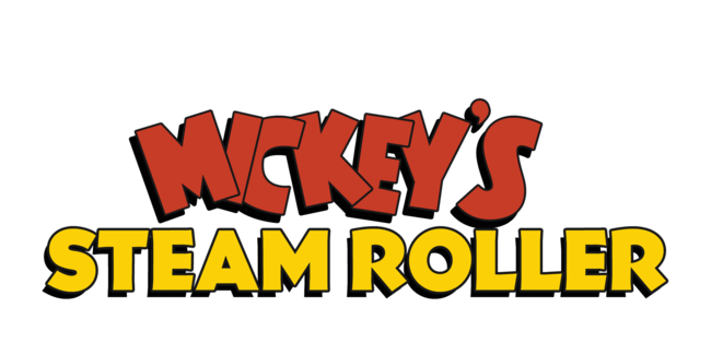 Mickey's Steam-Roller