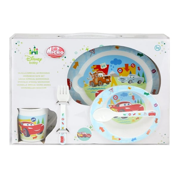 Disney SL: Microwave Set Cars Toddler Round The Block