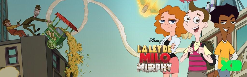 ES - Disney XD - Milo Murphy's Law - Hero Universal Short