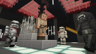 Minecraft Artists on Creating 53 New Character Designs for the Star Wars Sequel Skin Pack