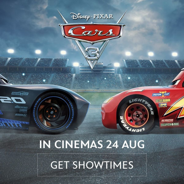 CARS 3 Advance Tickets