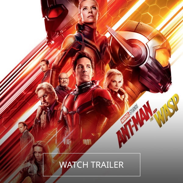Marvel Studios' Ant-Man and the Wasp - Watch Trailer