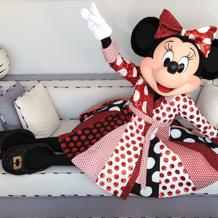 Minnie Mouse Will Wear Diane Von Furstenberg to Mickey's 90th Spectacular